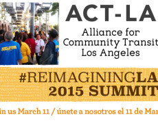 We are #ReimaginingLA on March 11 / Cumbre 2015 en 11 do Marzo